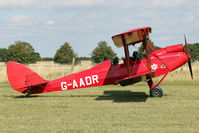 G-AADR - Participant at the 80th Anniversary De Havilland Moth Club International Rally at Belvoir Castle , United Kingdom