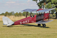 G-AIXJ - Participant at the 80th Anniversary De Havilland Moth Club International Rally at Belvoir Castle , United Kingdom