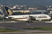 9V-SKC @ LSZH - early morning arrival from Singapore