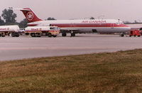 C-FTMQ @ CYQG - Air Canada DC-9 - by Florida Metal