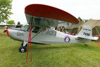 N6702C @ OSH - Aeronca 7BCM, c/n: 7BCM488 at 2011-Oshkosh