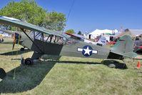 N42220 @ OSH - 1945 Piper J3C-65, c/n: 14470 at 2011 Oshkosh - by Terry Fletcher