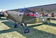 N50417 @ OSH - 1943 Taylorcraft DCO-65, c/n: L-5348 at 2011 Oshkosh - by Terry Fletcher