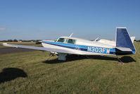 N303FW @ FLD - 1981 Mooney Aircraft Corp. M20K, c/n: 25-0549 at Fond Du Lac