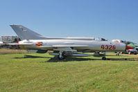 N21MG @ OSH - 1965 State Aircraft Factory F-7 MIG-21, c/n: 1603 at 2011 Oshkosh