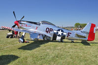 N68JR @ OSH - 1944 North American/aero Classics P-51D,  ex USAF 44-72051 c/n 122-31910