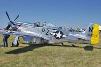 N5551D @ OSH - North American P-51D, ex USAF 45-11495 C/n 124-48248