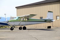 N6901A @ LHD - N6901A very early Cessna 172 at Lake Hood, Anchorage AK - by Pete Hughes