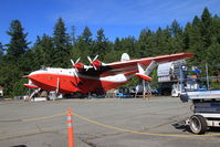 C-FLYK @ CAA9 - C-FLYK Martin Mars on an absolutely stunning day at Sproat Lake, Vancouver Island, BC - by Pete Hughes