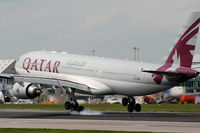 A7-ACM @ EGCC - Qatar Airways - by Chris Hall