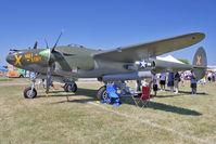 N79123 @ OSH - 1945 Lockheed P-38L-5, c/n: 422-8235 at 2011 Oshkosh