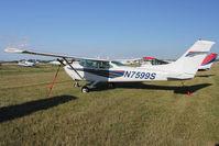 N7599S @ FLD - 1976 Cessna 182Q, c/n: 18265248 at Fond Du Lac