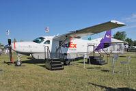 N992FX @ OSH - Cessna 208B, c/n: 208B2288 on Static display at 2011 Oshkosh