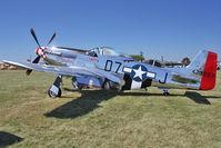 N951M @ OSH - 1944 North American/aero Classics P-51D, c/n: 44-73287N at 2011 Oshkosh