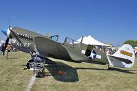 N49FG @ OSH - 1943 Curtiss Wright P-40N-5, c/n: 42-105861 at 2011 Oshkosh