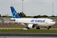 C-GVAT @ EGCC - Air Transat - by Chris Hall