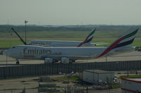 N408MC @ LOWW - Emirates Skycargo - by Thomas Ranner