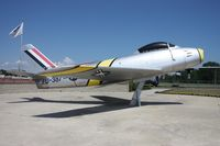 49-1095 @ MTC - F-86A - by Florida Metal