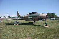 51-1664 @ MTC - F-84F Thunderstreak