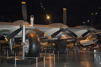 52-2220 @ FFO - B-36J Peacemaker engines
