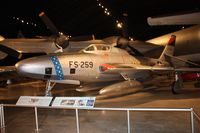 52-7259 @ FFO - RF-84K Thunderflash - issues with lighting here - by Florida Metal