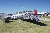 N51428 @ OSH - 1957 North American AT-6C, ex Bu 51429 C/n 88-13891 at 2011 Oshkosh