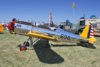 N48608 @ OSH - 1942 Ryan Aeronautical ST3KR, c/n: 1905 at 2011 Oshkosh