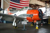 140557 @ WWD - North American T-28C Trojan at the Naval Air Station Wildwood Aviation Museum, Cape May County Airport, Wildwood, NJ - by scotch-canadian