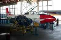 "51-9032 @ WWD - Allison J-33 Jet Engine and Lockheed T-33 ""Thunderbird"" at the Naval Air Station Wildwood Aviation Museum, Cape May County Airport, Wildwood, NJ - by scotch-canadian"