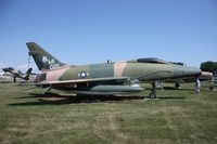 56-3025 @ MTC - F-100D - by Florida Metal