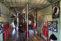 57-0514 @ MTC - museum inside the C-130