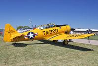 N4996H @ OSH - 1951 North American T-6G, ex USAF 49-3320A C/N 168-424 at 2011 Oshkosh