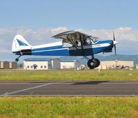 N118CS @ KDEW - N118CS landing - by George Perks