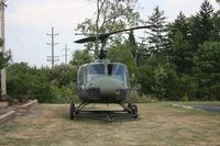 65-9696 - UH-1H Huey outside a VFW Hall near Dayton OH airport - by Florida Metal