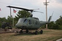 65-9696 - UH-1 outside VFW hall Vandalia OH - by Florida Metal