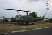 65-9696 - UH-1H outside VFW Hall near Dayton Airport Ohio