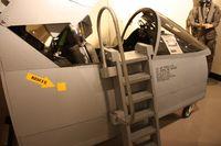 69-6197 @ MTC - A-7D cockpit section