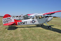 N9019V @ OSH - 1962 Cessna L-19E, c/n: 305M0023 ex 61-2977 at 2011 Oshkosh