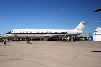 160050 @ OSH - McDonnell Douglas C-9B Skytrain II, c/n: 47669 at 2011 Oshkosh - by Terry Fletcher