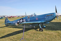 N7612 @ OSH - Supermarine SPITFIRE MK 26B, c/n: 077 Replica at 2011 Oshkosh