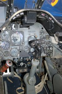 142180 @ WWD - Douglas A-4A Skyhawk (A4D-1) Cockpit at the Naval Air Station Wildwood Aviation Museum, Cape May County Airport, Wildwood, NJ - by scotch-canadian