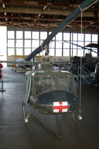 69-15905 @ WWD - 1970 Bell UH-1H Iroquois Helicopter at the Naval Air Station Wildwood Aviation Museum, Cape May County Airport, Wildwood, NJ - by scotch-canadian