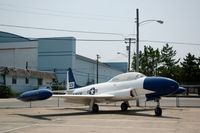 51-9248 @ WWD - 1951 Lockheed T-33A at the Naval Air Station Wildwood Aviation Museum, Cape May County Airport, Wildwood, NJ - by scotch-canadian