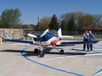 N1AD - I want to say it was at Van Wert, OH?   I forgot now...needless to say, it's a beautiful airplane.