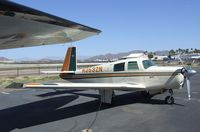 N3532N @ KFFZ - Mooney M20C Ranger outside the CAF Museum at Falcon Field, Mesa AZ - by Ingo Warnecke