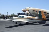 N3532N @ KFFC - Mooney M20C Ranger outside the CAF Museum at Falcon Field, Mesa AZ - by Ingo Warnecke