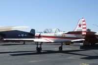 N24YK @ KFFZ - Yakovlev Yak-52 outside the CAF Museum at Falcon Field, Mesa AZ - by Ingo Warnecke