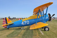 N95DA @ OSH - 1942 Boeing A75N1, c/n: 75-1570 ex 41-8011 at 2011 Oshkosh