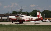 C-GWIL @ KOSH - Mooney M20K - by Mark Pasqualino