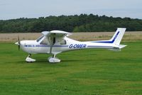 G-OMER @ X3CX - Just arrived at Northrepps. - by Graham Reeve